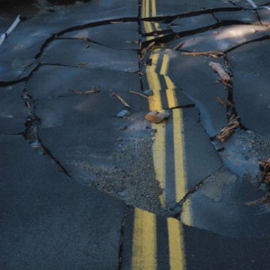 CHP Reports Significant Road Damage As A Result Of Napa Quake