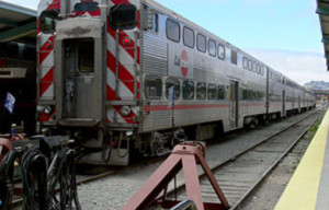 Caltrain Strikes Unoccupied Car On 16th Street