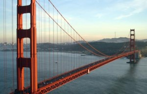 San Rafael Man Allegedly Tries To Block Golden Gate Bridge With U-Haul, Takes Off On Bike