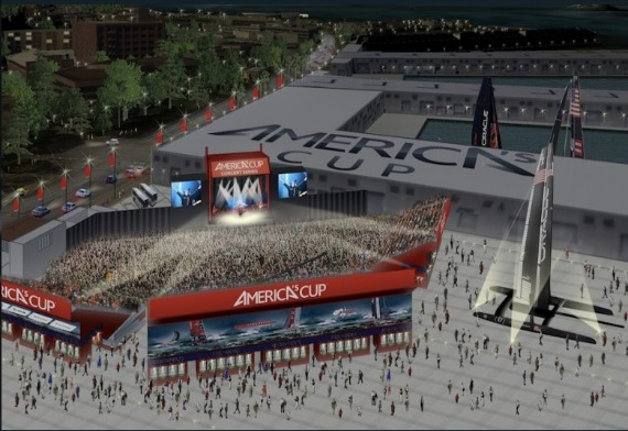 "Meeting Tonight On America's Cup Concert Venue:  ""We're still opposed to the plan as is"""
