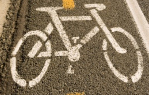 Construction of City's First Raised Bike Lane to Start Monday