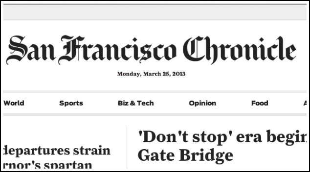 SF Chronicle Releases Statement Confirming That All Chron Content Is No Longer Behind A Paywall