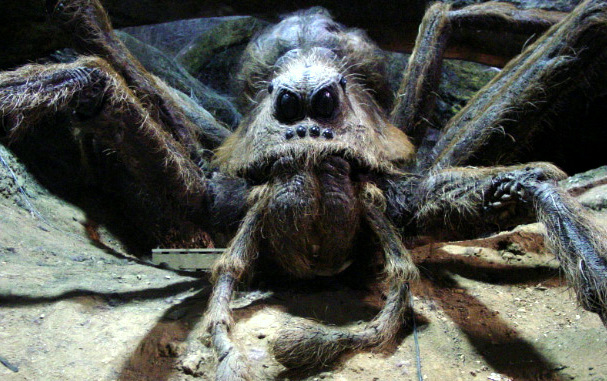 Malevolent Spiders Behind Parking Meter That Eats Your Money
