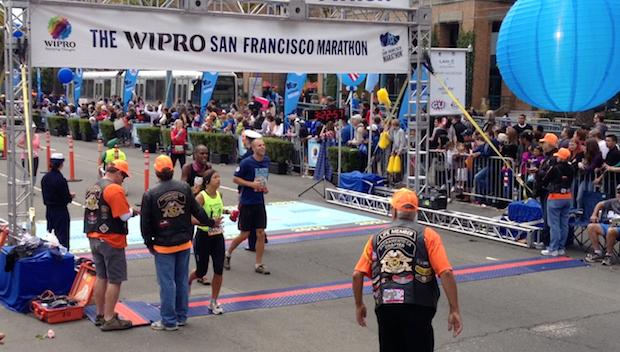 Smokin' Fast: Marathon Finishers Keep Calm and Carry On
