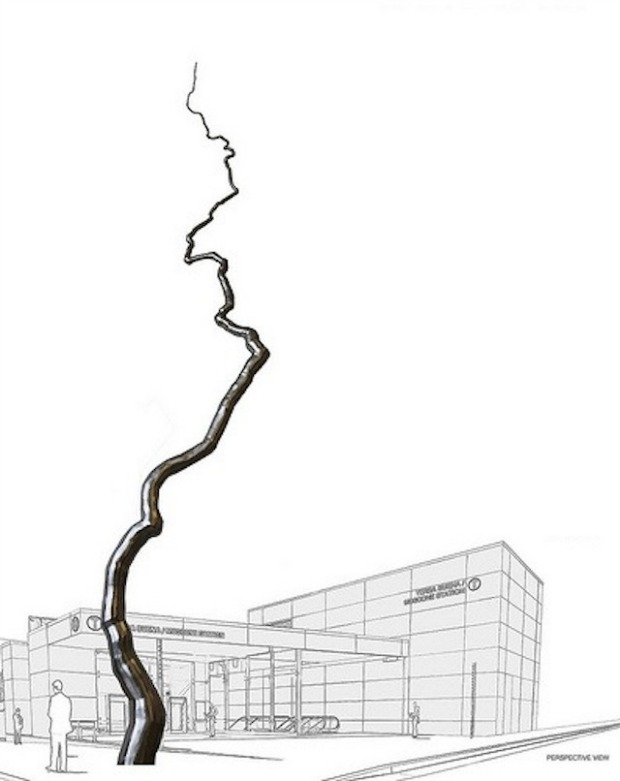 110 Ft. Sculpture Approved for Yerba Buena Central Subway Station