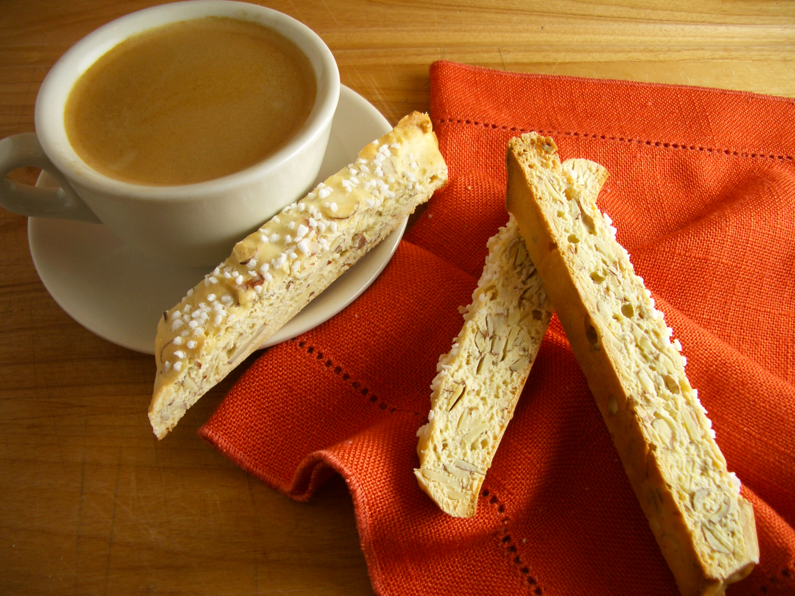 Goodies by Anna: Lemon Almond Biscotti