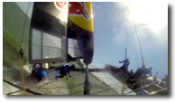 Youth America's Cup Capsizes During Practice Run (Video)