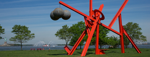 Local Artist's Steel Sculptures Now On Display At Crissy Field