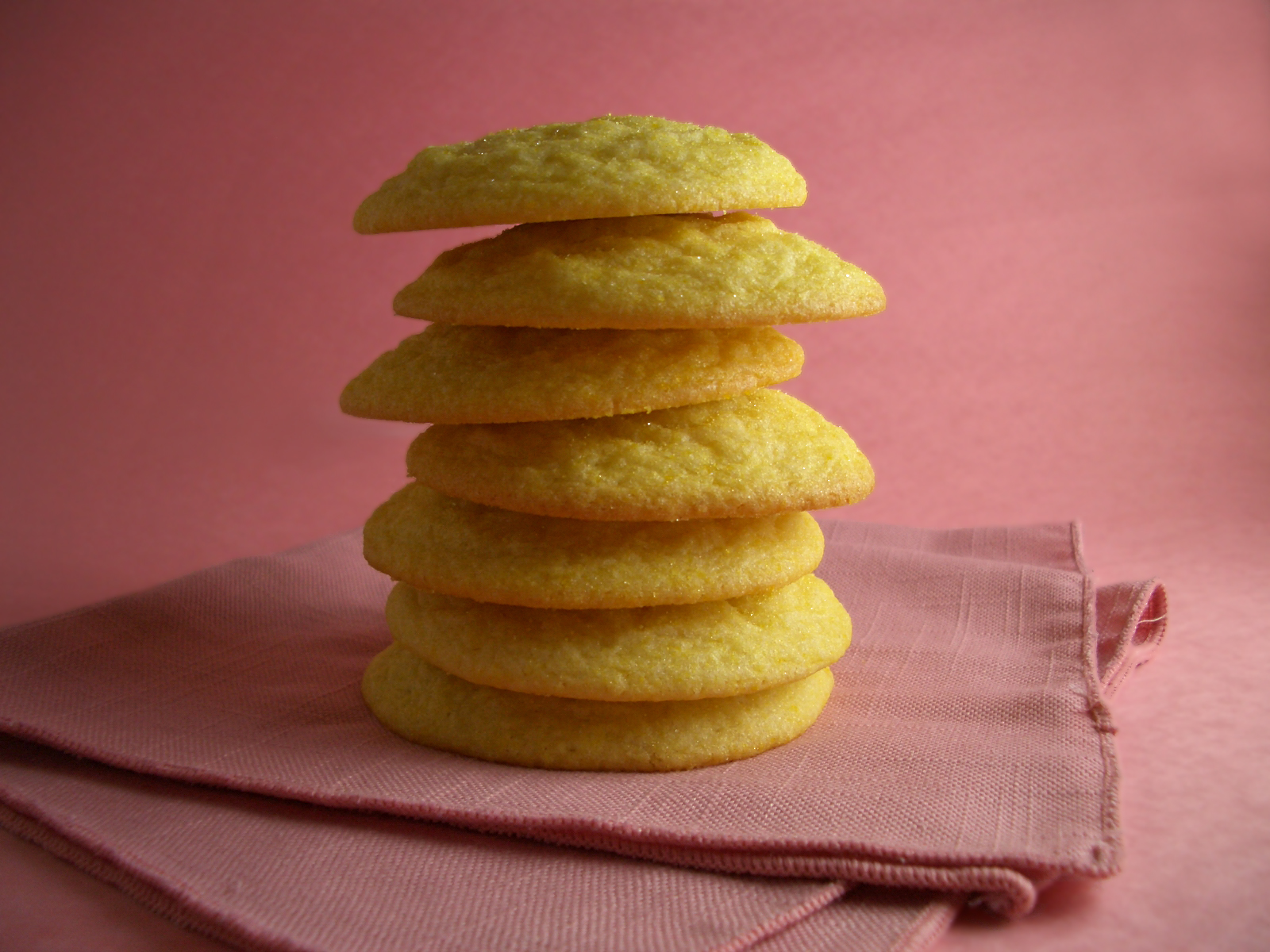 Goodies by Anna: Soft Lemon Sugar Cookies