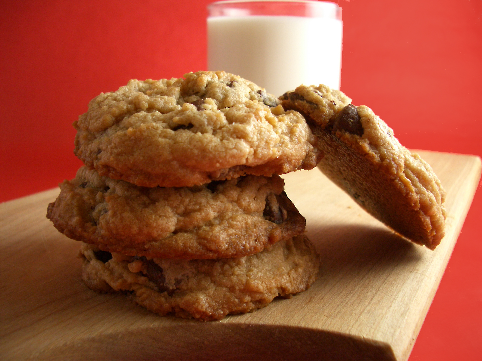 Goodies by Anna: Peanut Butter Chocolate Chunk Cookies