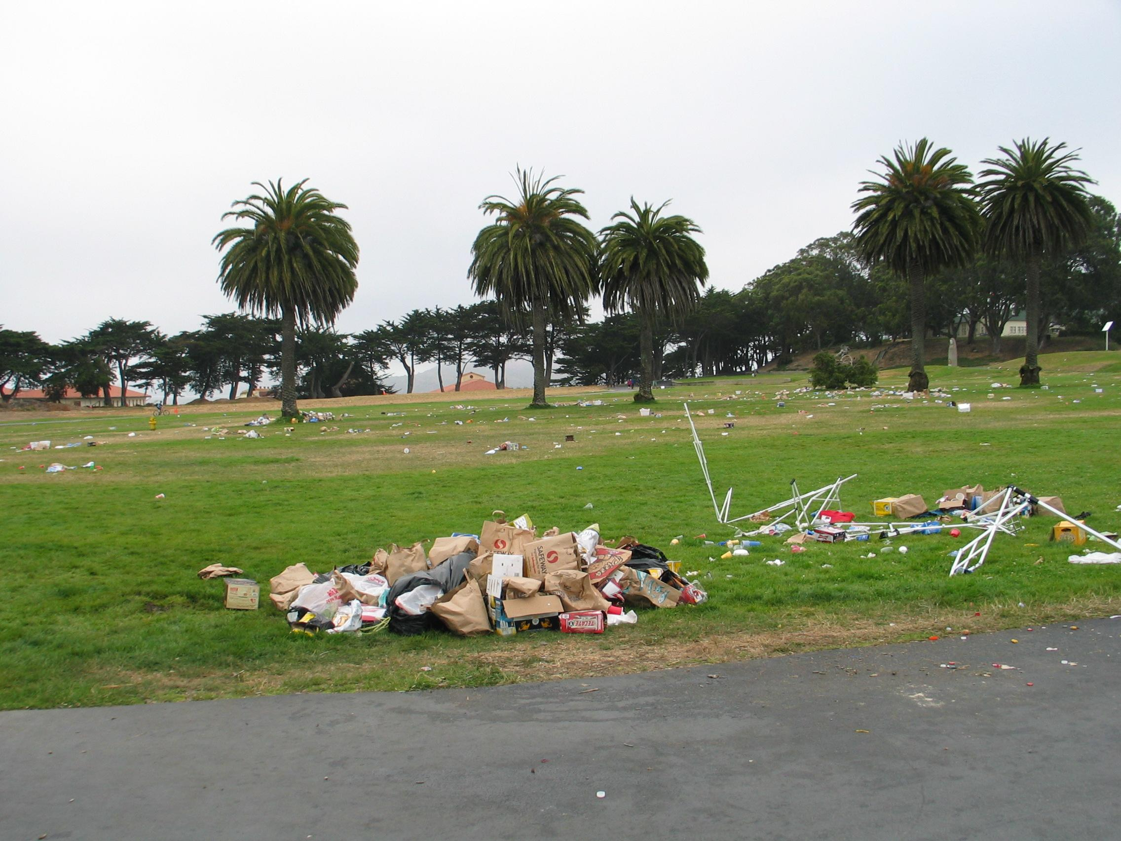 Last Year's July 4 Mess Prompts New Rules At Fort Mason