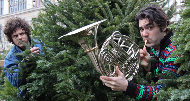 Dancing Freedom: French Horn Rebellion Plays The Rickshaw Stop