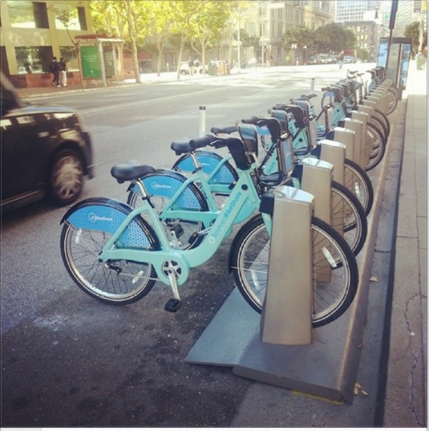 "Bike Share Launches In SF: $11.2 Million Project Touted As ""Fun Alternative To Driving"""