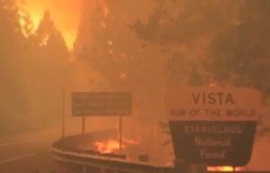 Officials: Massive Rim Fire Won't Be Contained Until October