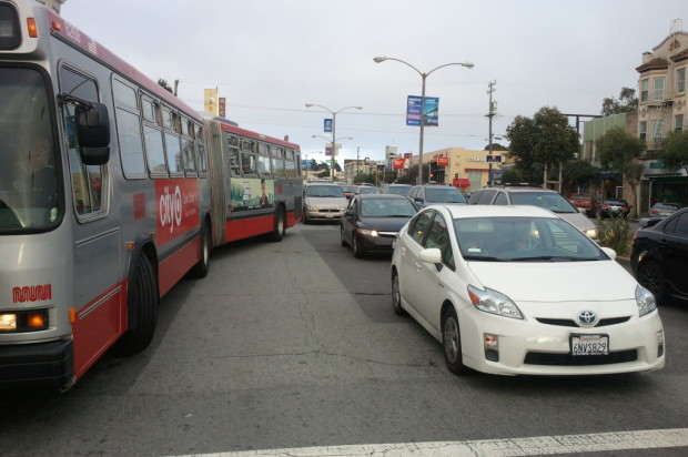 San Francisco Streets, Bay Bridge, And Freeways Heavily Congested Due To BART Strike