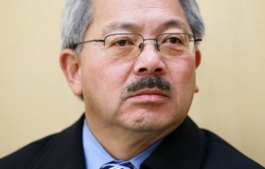 Protestors Rally Outside Mayor Ed Lee's Home, Call for His Resignation