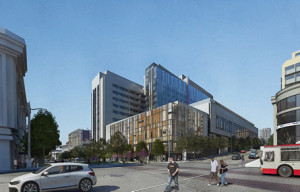 CPMC Breaks Ground For Hospital At Cathedral Hill Hotel Site