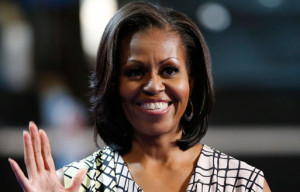 Protesters Gather Outside Michelle Obama's Fairmont Fundraiser