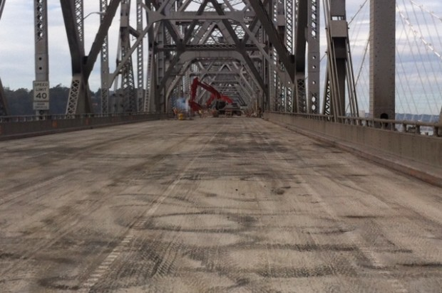 Crews Start To Demolish Old Eastern Span Of Bay Bridge