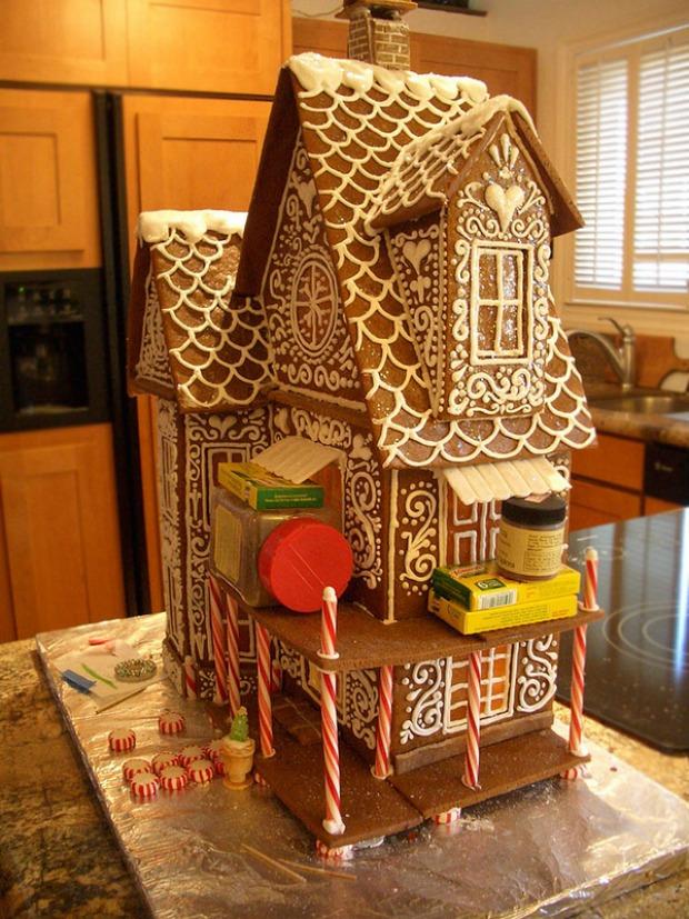 Goodies By Anna Winter Wonderland My Gingerbread House