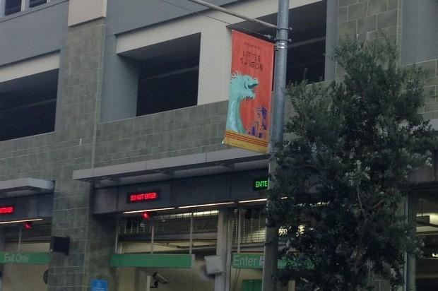 "New Banners Flying In Tenderloin's ""Little Saigon"""