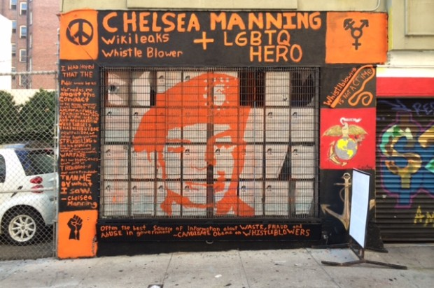 Shannon Alley Murals Highlight Veteran Suicide, Honor Chelsea Manning