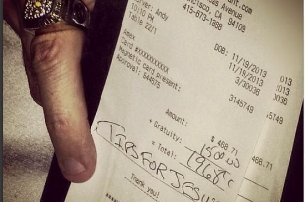 Generous Mystery Tipper Hits SF Restaurants