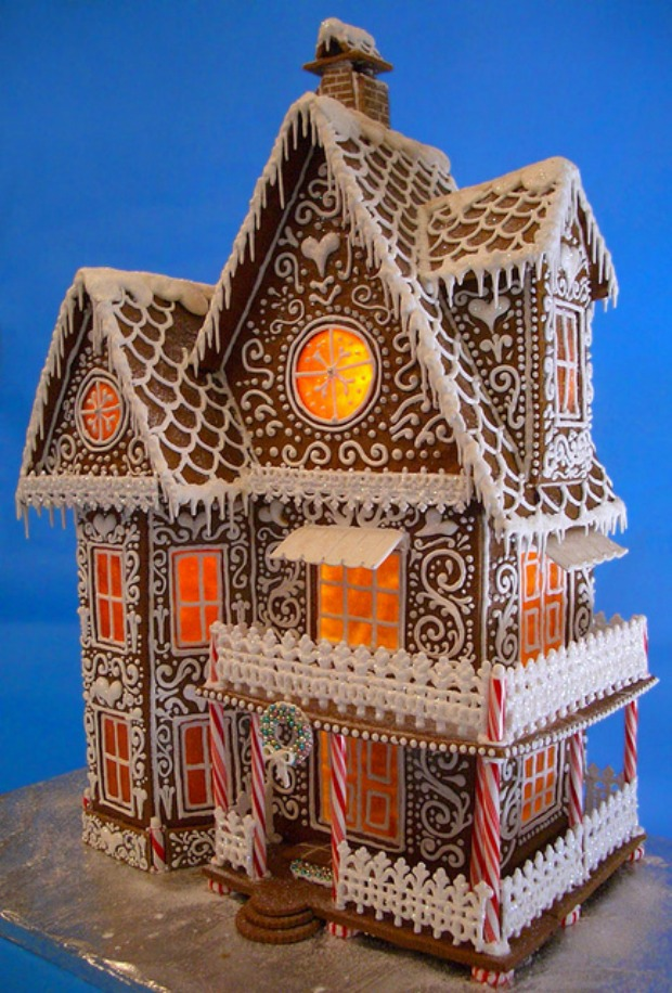 Goodies by Anna: Winter Wonderland, My Gingerbread House 2013 | SF ...