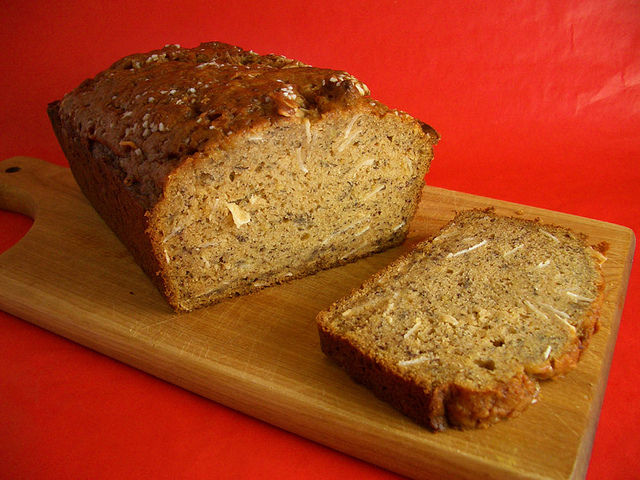Brown Butter Banana Bread With Rum And Coconut | SF Appeal ...