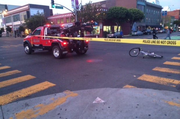 "Witness: Cyclist Who Was Struck By Tow Truck Driver Was ""Very Lucky"" To Avoid More Serious Injuries"
