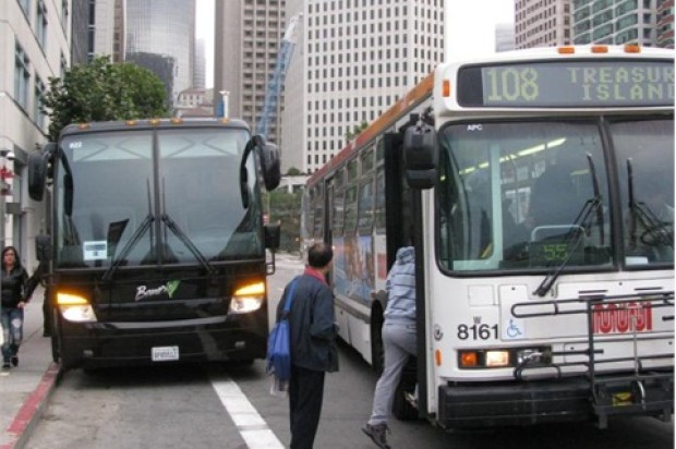 San Francisco's Getting Sued For Letting Tech Buses Use Muni Stops
