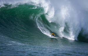Thousands Watch Grant Baker Take The Title At Mavericks Surf Competition