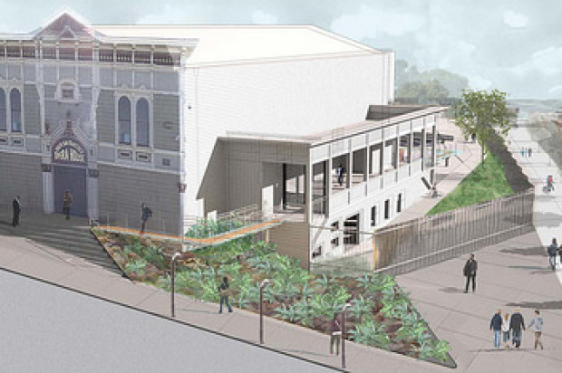Officials Celebrate Groundbreaking For Bayview Opera House Renovations