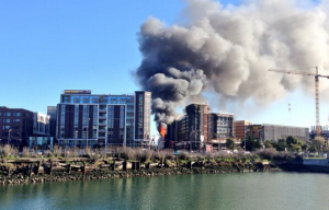 As Massive Mission Bay Blaze Continues To Burn, Mayor Says Welding Might Be To Blame