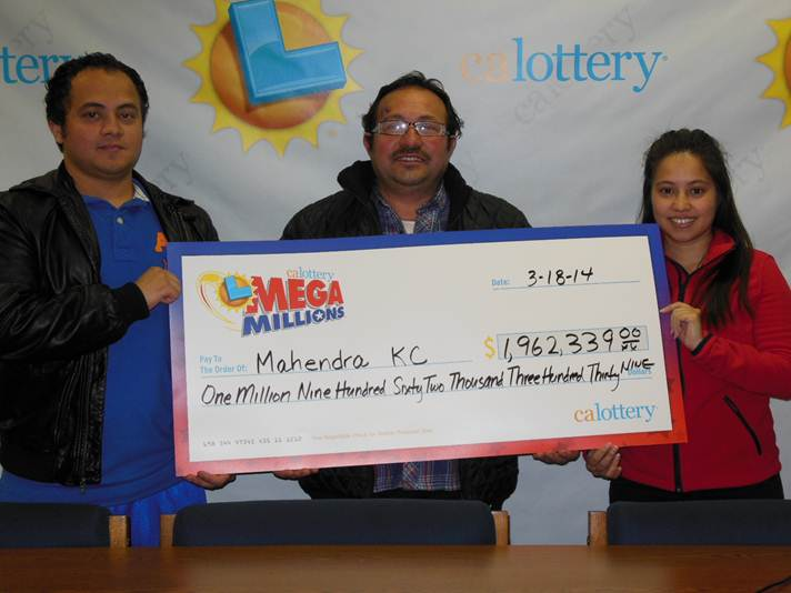 california lottery winners 2014