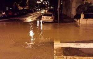 100-Year-Old Water Main Breaks In Lower Haight