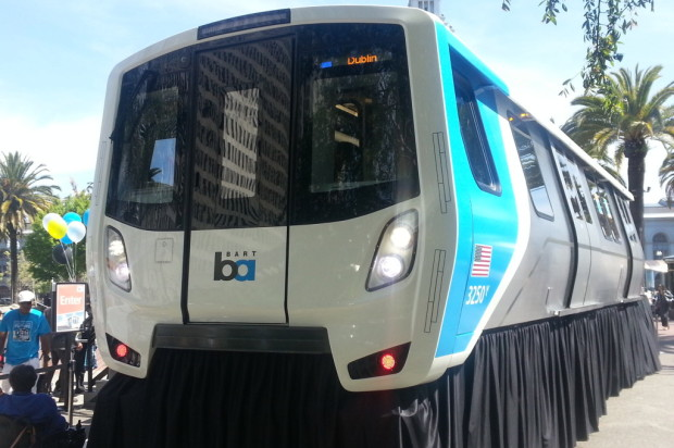 BART's Fleet Of The Future Debuts In SF To Cheers And Jeers (Slideshow)