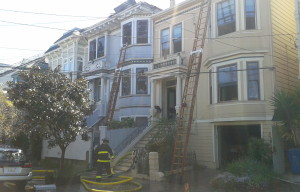 Three Buildings Rendered Uninhabitable By Duboce Triangle Fire