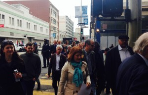 City Leaders Hit The Pavement For Walk To Work Day