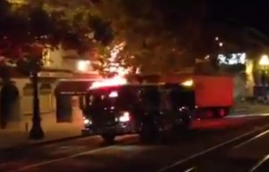 Mechanical Problems Might Have Caused Big-Rig Crash Into Castro Funeral Home (Video)