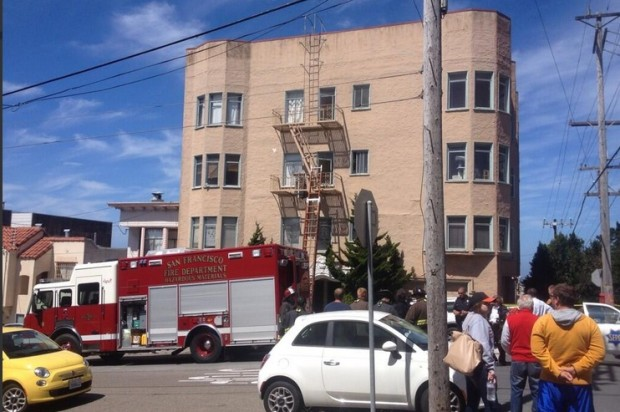 Evacuation Ordered, One Man Dead In Possible HazMat Situation In Outer Richmond