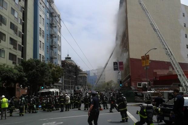 OSHA Looking Into Three Alarm Fire at Former Renoir Hotel