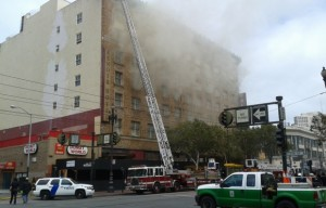 Fire at Former Renoir Hotel Causes $1.2M in Damage
