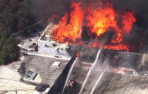 "Three Injured In Five-Alarm ""Big House"" Blaze On Mission Street"