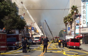 Salvation Army Responds to Mission District Fire