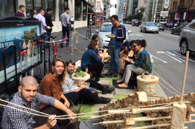 SF Hangs Out In The Streets For Park(ing) Day