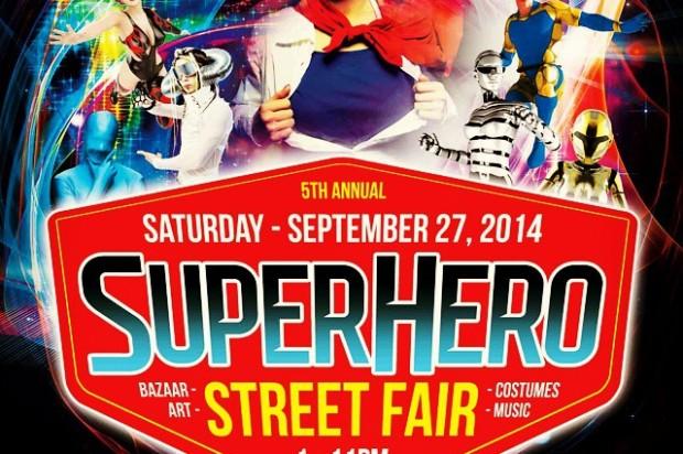 Annual Bayview Superhero Street Fair Draws Superheroes, Villains