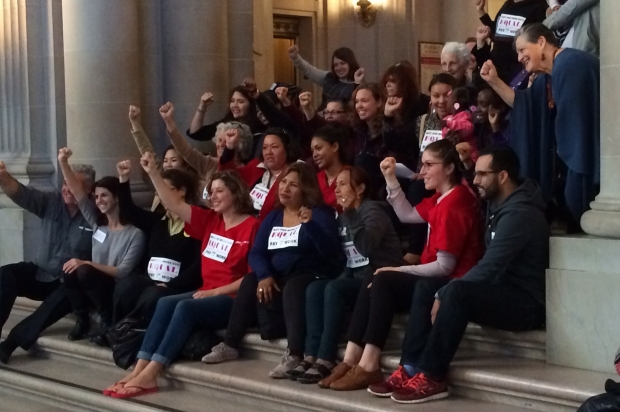 Supes Vote in Favor of Equal Pay Ordinance for City Contractors