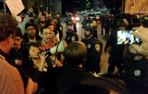 Protestors Arrested Following Grand Jury's Decision in Ferguson Shooting