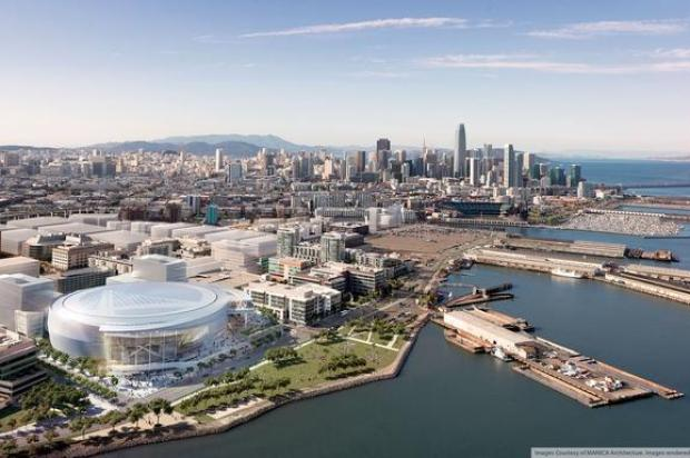 Warriors Unveil New Plans for Mission Bay Arena